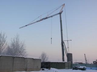 Продам башенный кран SAN MARCO SMH 401 (Б/У) ,2007г.в.